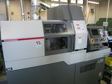 CNC自動旋盤 シチズン L20E